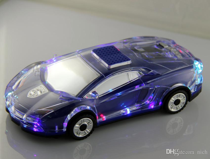 Cool Mini Jhw V Car Model Speakers Portable Speaker Led Light - Cool car models