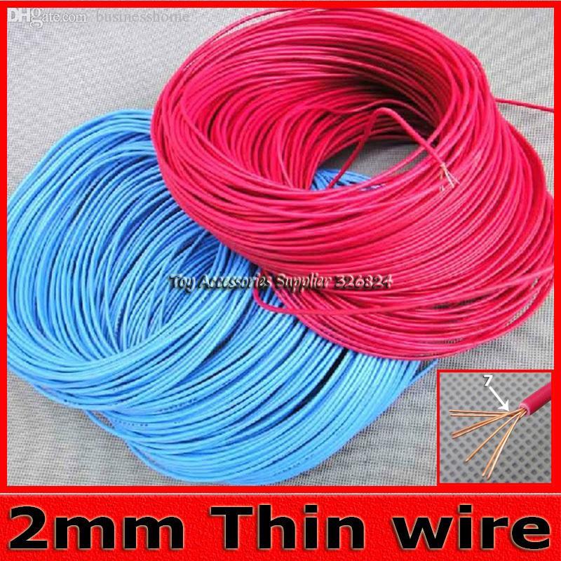 Best Wholesale Fine Wire 20m 2mm Jumper Wires Copper Conductors ...