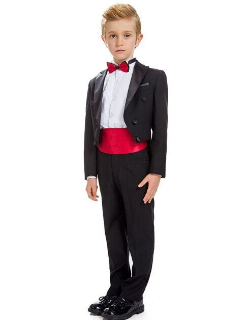 2018 children cuhk boy flower girl dress costumes tuxedo suits formal party small suit jacket+pants+tie