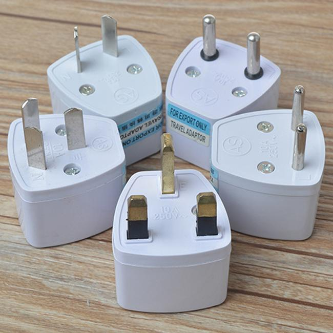 US UK EU AU aan Universal AC Power Plug Adapter Travel Charger Converter Electronic Socket Adapter