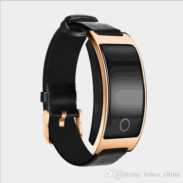 CK11S Top Quality Newest Smartwatch PU leather band bluetooth smartwatch support Android 4.4 IOS 8.0 phone