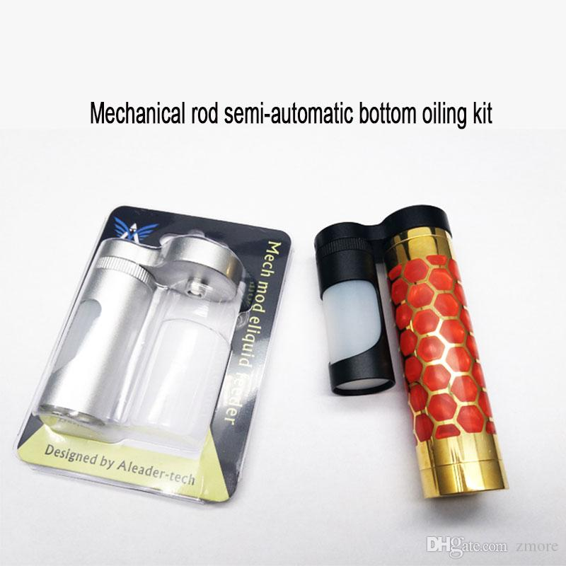 100% Aleader берет меха мод механический стержень полуавтоматический Нижний смазочный комплект с 7 мл пищевой Силиконовой бутылкой