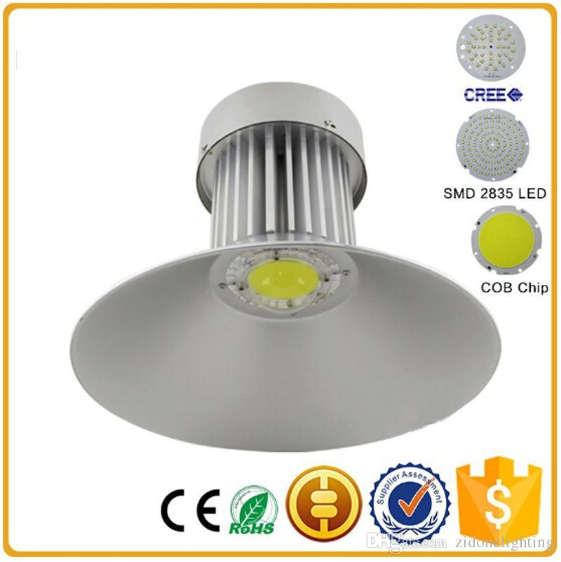 LED High Bay Light SMD2835 Industrial 85 265V 100W 120W 150W 200W Approved Led Gas Station Canopy Warehouse Lights Shop