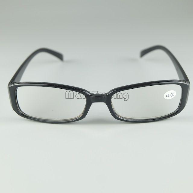 Occhiali da lettura a buon mercato Telaio in plastica Occhiali da lettura rotondi Lente in resina nera 50 pz / lotto Nero e tartaruga