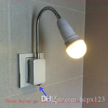 2017 New Led Bulbs With Switch Plug Small Night Lamp Wall