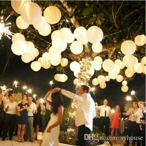Paper Lanterns Wedding Decoration Ideas: Wedding Decorations Paper Lanterns Chinese Round Paper