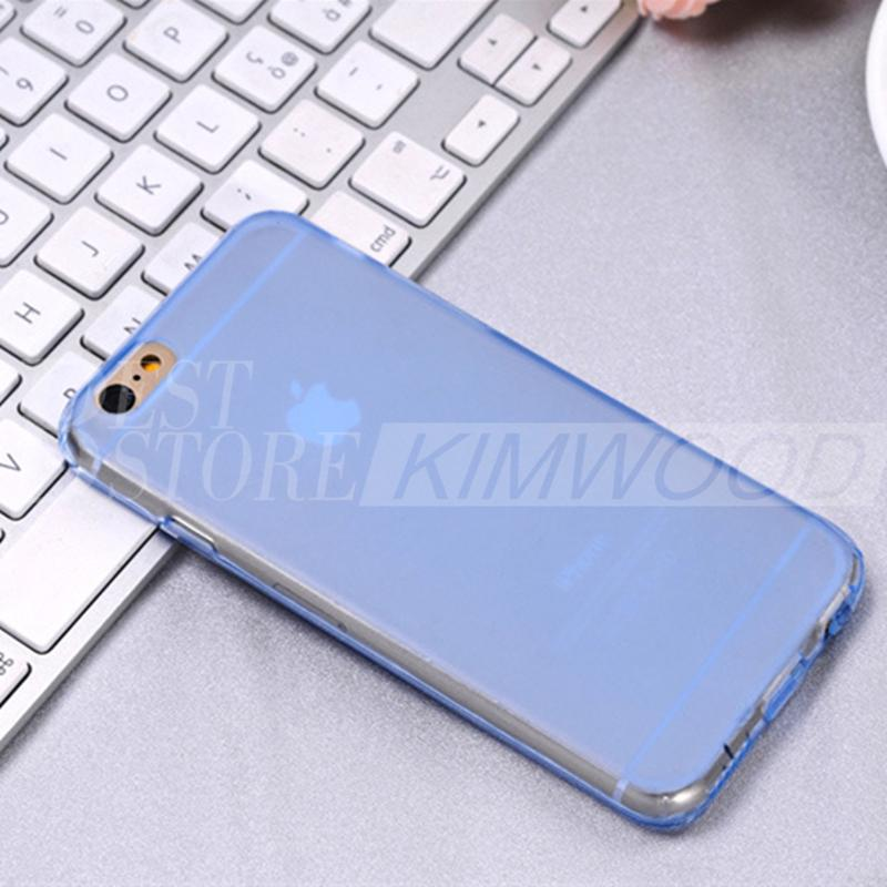 Ultra Thin And High Quality Soft TPU Flip Phone Case Cover For Iphone 6 And 6 Plus