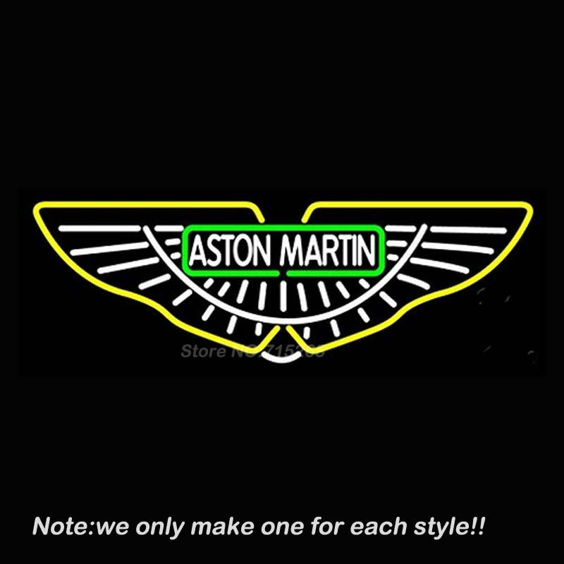 Best Aston Martin Db7 Neon Light Sign Decorate Real Glass