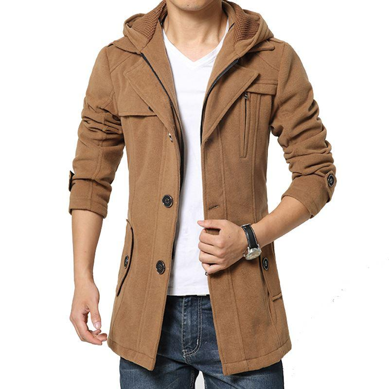 Wholesale Hot Sale 2015 Fashion Brand Winter Jacket Men Turnd Down ...