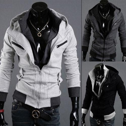 Compre NWT Assassin Creed Coat Hombres COSPLAY Desmond Miles Hoodie Costume  Con Capucha Coat Jacket Sweater Daily Wear Regalo De Cumpleaños A  33.2 Del  ... 91351d360d5d