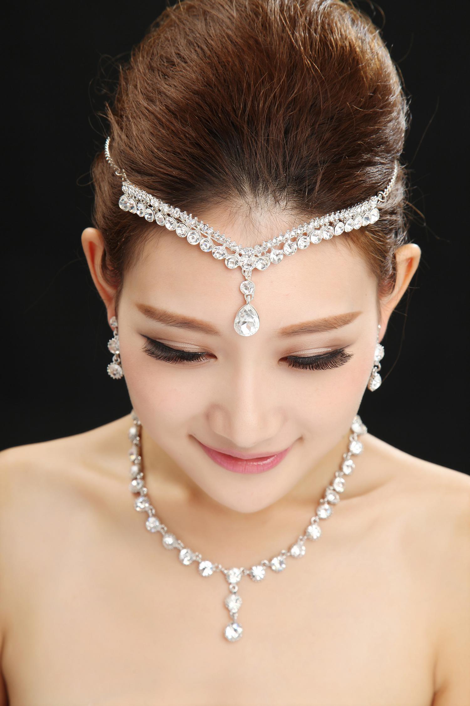2015 New Arrival Russian Rhinestone Crystals Wedding