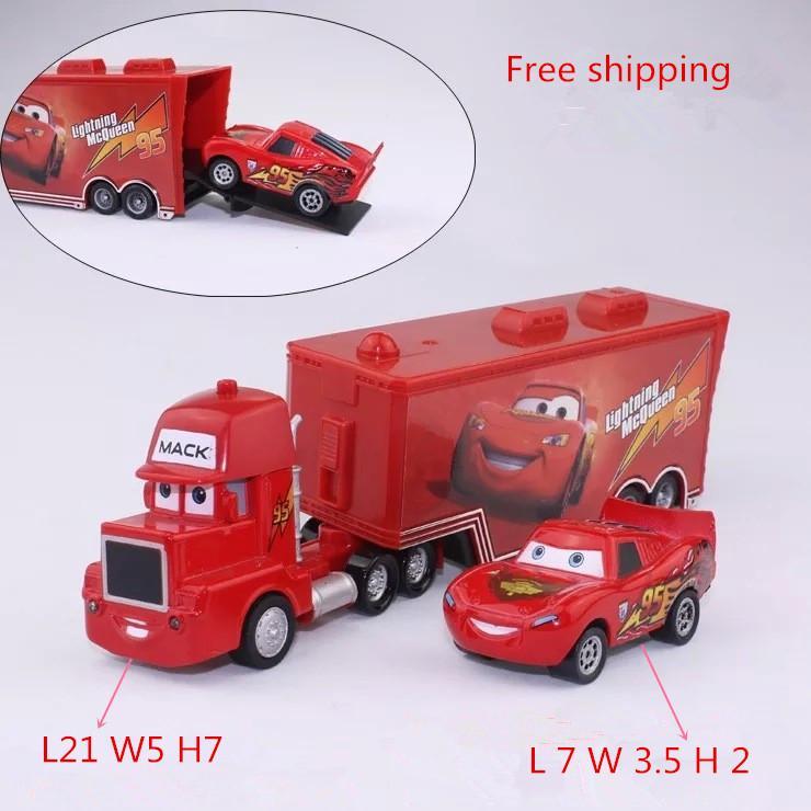 wholesale cars 2 mack chick hauler thai pixar car lightning hick truck toy car kid with little car by ruixuan66 under 1006 dhgatecom