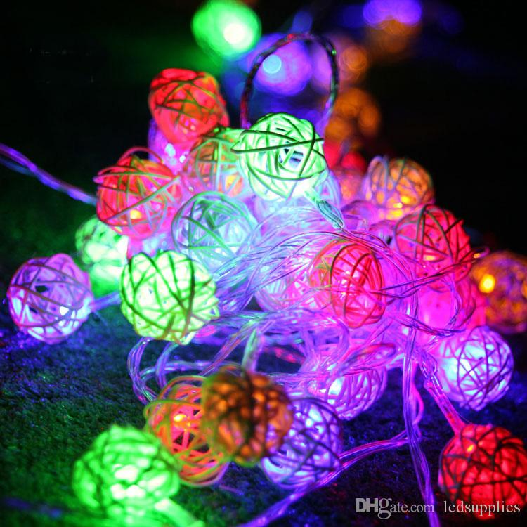 10 m 38 LEDs renkli gece lambası yanıp sönen şerit LED Dize lambaları Noel ev bahçe festivali ışıkları chinlon LED serisi ışıkları