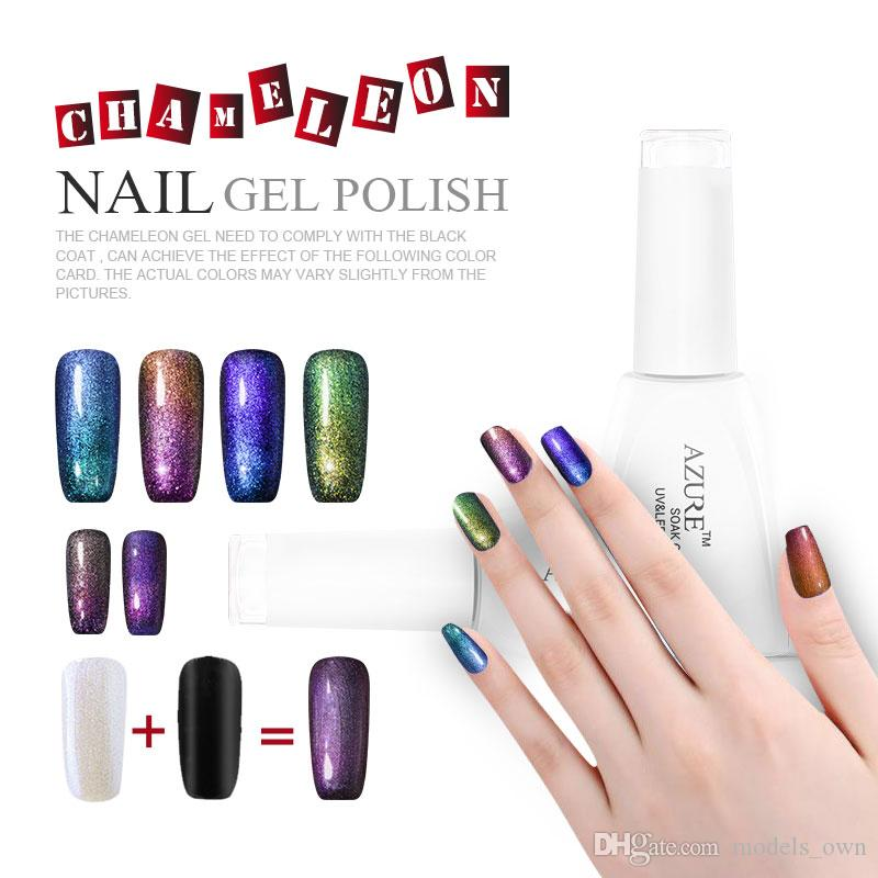 Azure Beauty Chameleon Gel Nail Polish Colorful Phantom LED UV Gel Polish Long-lasting Nail Art