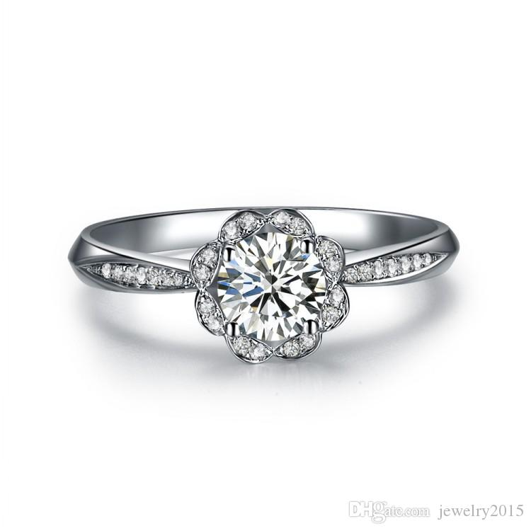 Sona Simulated Diamond Wedding Rings For Women b3c3660fdb