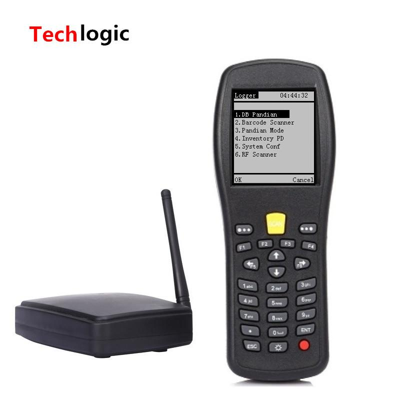 Wholesale- Techlogic X5 Wireless Laser Barcode Scanner Handheld Data Terminal PDA High Scaned Speed Barcode PDA for Logicstics