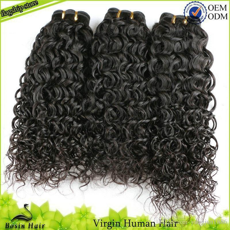 Afro Curly Weaves For Black Women Unprocessed Virgin Human Hair Extensions Grade 7A Hair Bundles Brazilian Kinky Curly Virgin Hair