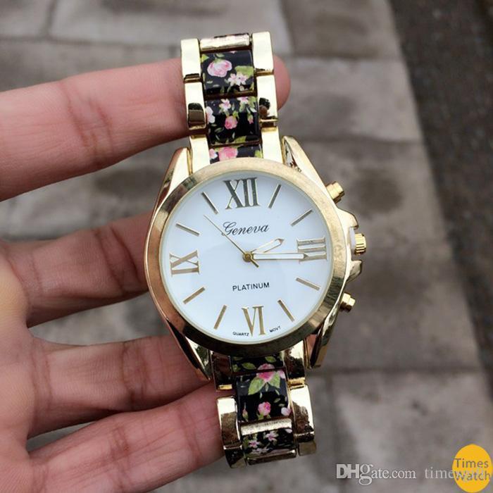 бесплатная доставка высокий стиль на часы и закончил с винтажным принтом центральные звенья. Чувствовать себя красивой e