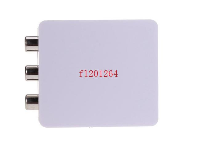 DHL HDMI2AV 1080P HD Video Adapter mini HDMI to AV Converter CVBS+L/R HDMI to RCA,