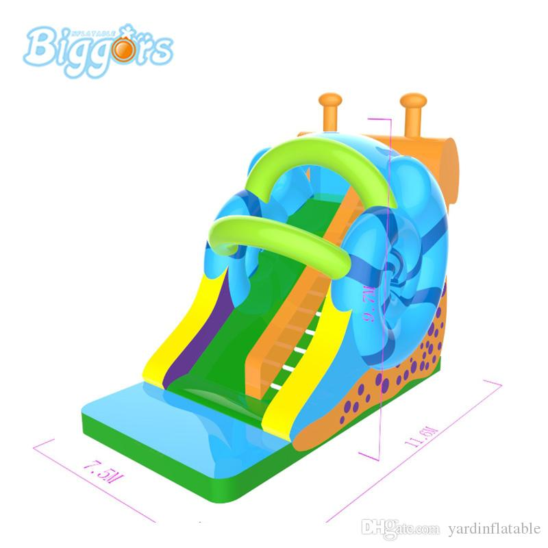 Factory Price Commercial Use Hot Selling Snail China Inflatable Jeux Gonflables Water Pool Slide For Sale