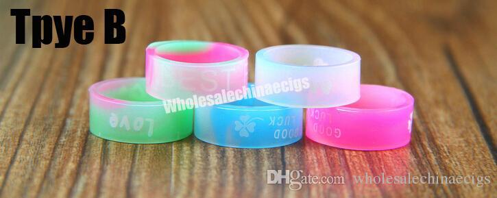 E acessórios de cigarro anel de silicone vape anel de borracha para mods mecânicos decorativos e proteção vape mod resistência vape bandas de borracha