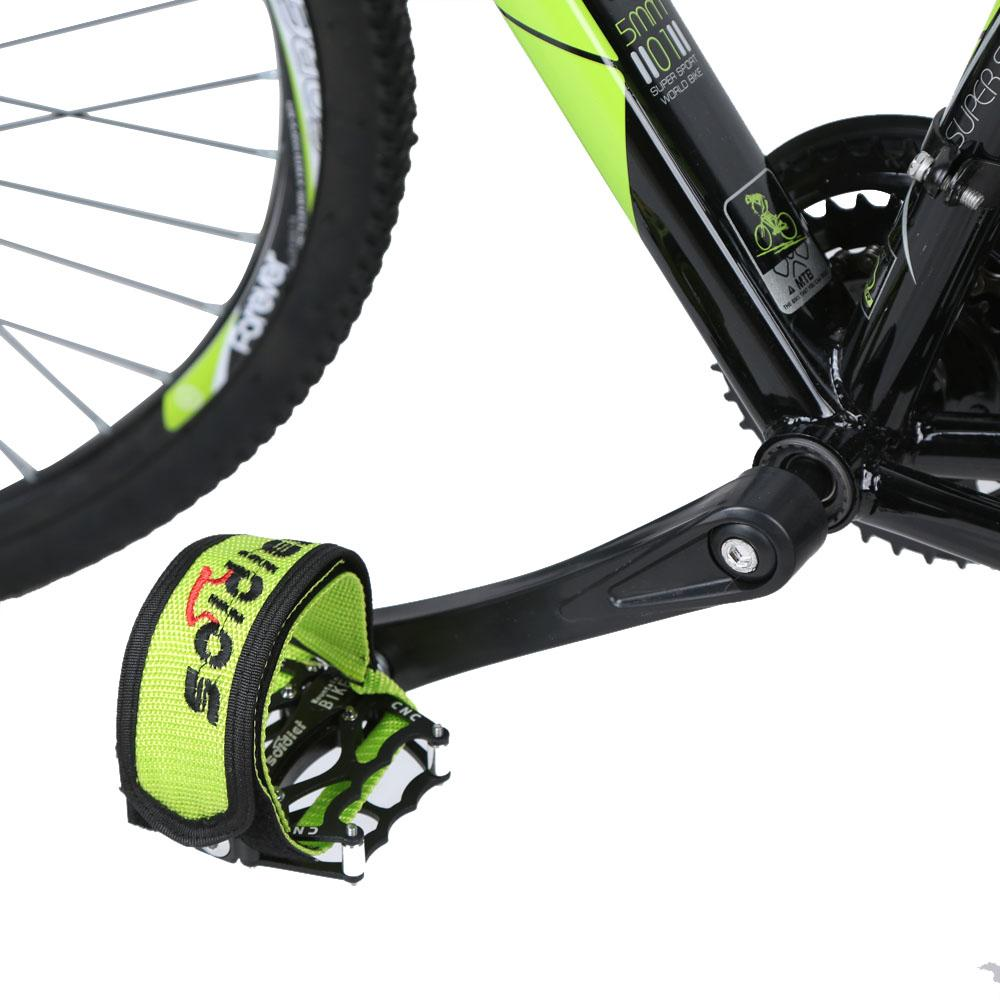 New Bicycle Pedal Clip Fixed Gear Fixie BMX Bike Bicycle Anti-slip Double Adhesive Straps Pedal Toe Clip Strap Belt order<$18no tra