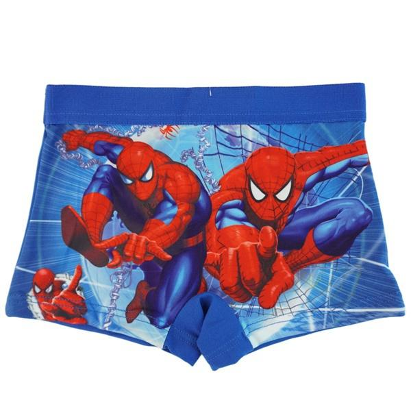 Children's Underwear Cotton Baby Boxers Spiderman Boys Underwear Panties Briefs Size:3-12years Color random
