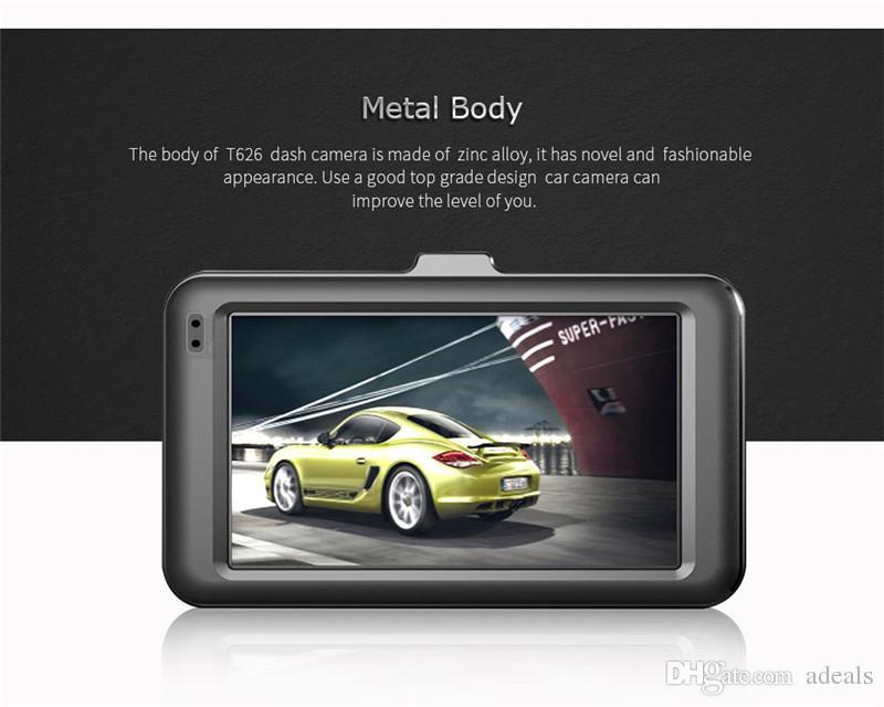 "Dvr Camera 1080P Full HD New 3.0"" CAR DVR CAMERA T626 Car Camera For Driving Recording"