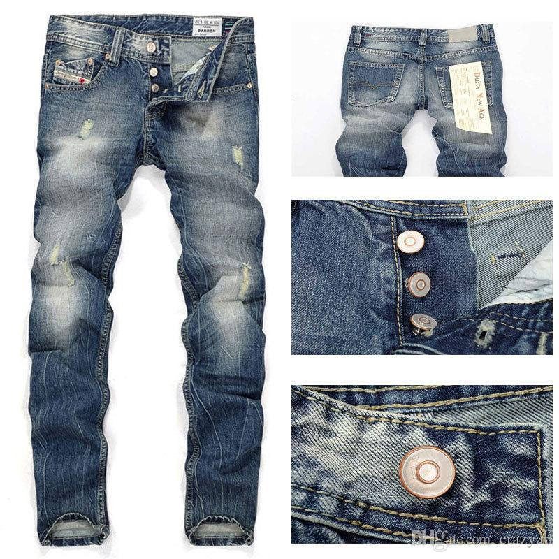 Buy Wholesale Italy Fashion Designer Mens Jeans Brand Ripped Jeans ...