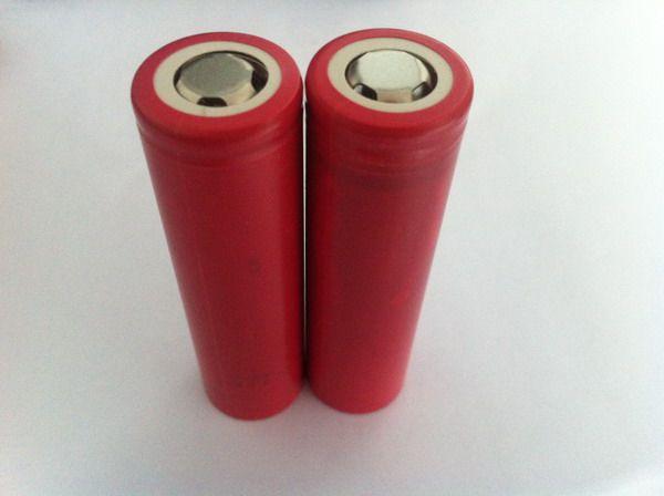 Orijinal Güney Kore 18650 pil hücreleri HE21865 18650 2500 mah 35amp18650 kutusu mod pil ile düz üst HE2 pil-kırmızı renk