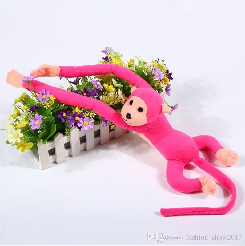 60cm hängender langer Arm-Affe vom Arm zum Endstück-Plüsch spielt nette bunte Puppe-Kind-Geschenk-Affe-Plüschtier-Puppe