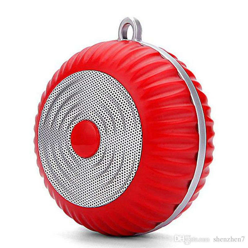 GM012 Bluetooth Speaker Built-in MIC TF Slot Super Bass Wireless Speakers Portable Audio Players For Outdoor Sports DHL Free MIS113