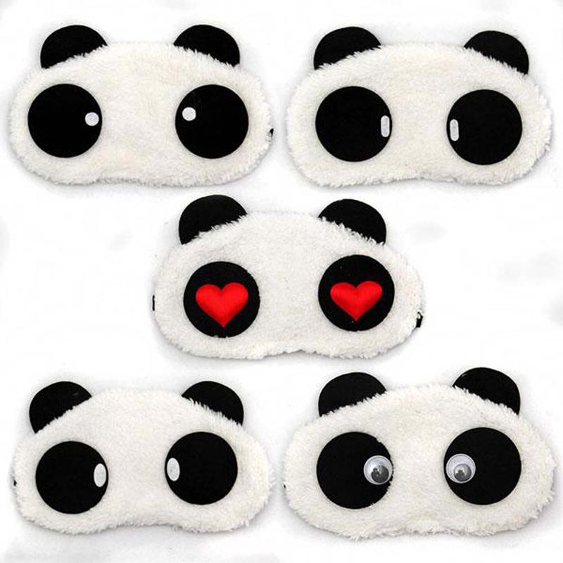 9c95ceb6301 Sleeping Eye Mask Cute Panda Nap Eye Shade Cartoon Blindfold Sleep Mask Eyes  Cover Sleeping Travel Rest Relaxing Aid Tools Aromatherapy Sleep Mask  Beauty ...