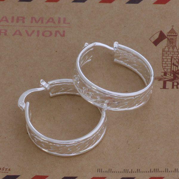 Мода производитель ювелирных изделий 20 шт. много шаблон круг серьги стерлингового серебра 925 ювелирные изделия заводская цена мода