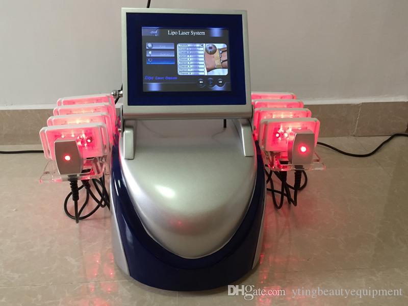 Профессиональный диодный липолязер целлюлита удаления жира сжигания Lipo лазерное тело для похудения 650 нм980 нм