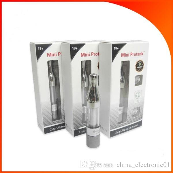 MINI ProTank Atomizzatore eGo Sigaretta elettronica ProTank match eGo battery 2.0ml Clearomizer e-cig new DHL libero