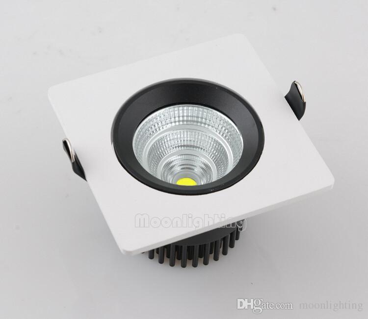 جودة عالية عكس الضوء 15W البوليفيين بقعة الصمام سقف أسفل الخفيفة AC85-265V سطوع عالية ساحة LED دوونلايتس أضواء السقف بارد أبيض دافئ