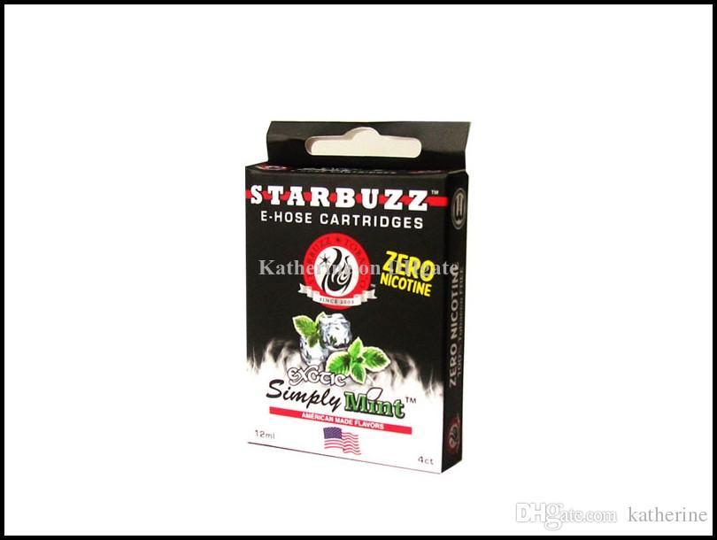 E Manguera Cartuchos Starbuzz Recargable Multi Sabor para E Manguera Atomizador Varios sabores para Starbuzz ehose Mod paquete 14 Sabores