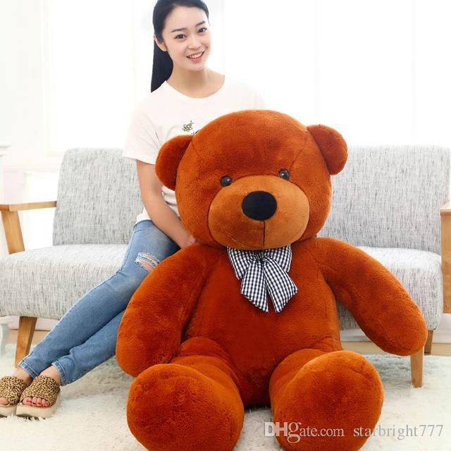 Großer großer Teddybär 160cm 180cm 200cm 220cm lebensgroßer großer riesiger großer Plüsch Stofftier Puppen Mädchen Geburtstag Valentinstag Geschenk