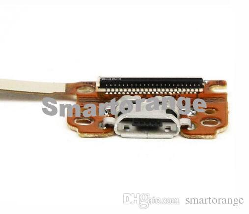 Asus Google Nexus 7 için Güç USB Şarj Portu Kulaklık Jakı Flex Kablo 1