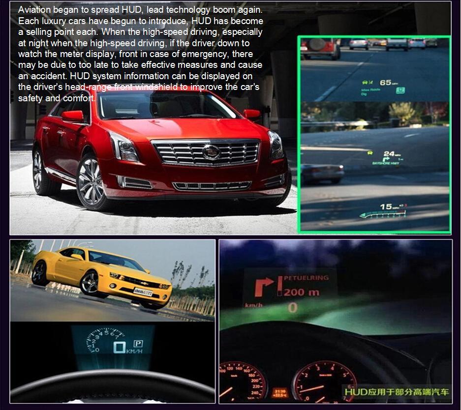 Ifound HUD S5 OBD 일반적인 운전 오류 감지기 스마트 미터 연료 온보드 컴퓨터 디스플레이 주행차 자동차 HUD 5.5 인치 컬러 프로젝션