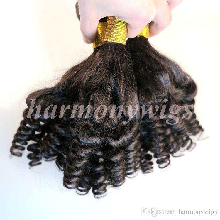 Связки человеческих волос девственницы Бразильские человеческие волосы плетут утки Funmi 8-34 дюйма необработанные перуанские индийские монгольские оптовые наращивания человеческих волос