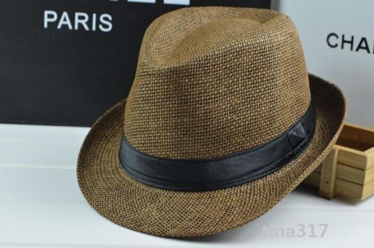Moda Panama Hasır Şapkalar Yumuşak Erkek Kadın güneş şapka Cimri Brim Caps 10 Renkler Seçin 20 adet / grup Cimri Brim Şapka 0350