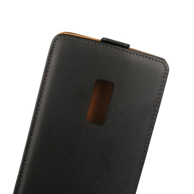 For Huawei Mate 9 Y5 II LG K8 Oneplus One Plus 2 Samsung Galaxy Note 5 Genuine Real True Flip Leather Pouch Vertical Phone Case Smooth Cover
