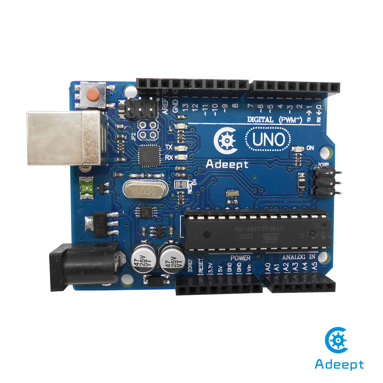 New arduino uno r board atmega p u free