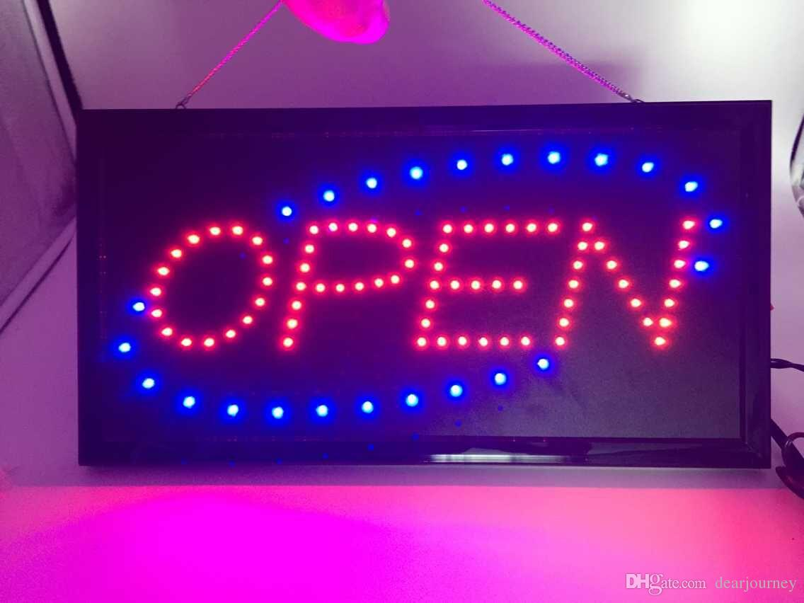 2018 2015 new arriving super bright led open sign neon sign board open indoor from dearjourney. Black Bedroom Furniture Sets. Home Design Ideas