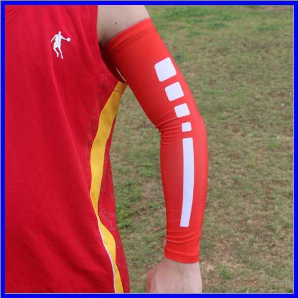 Moda lycra elite braço manga para beisebol correndo esportes compressão digital camo