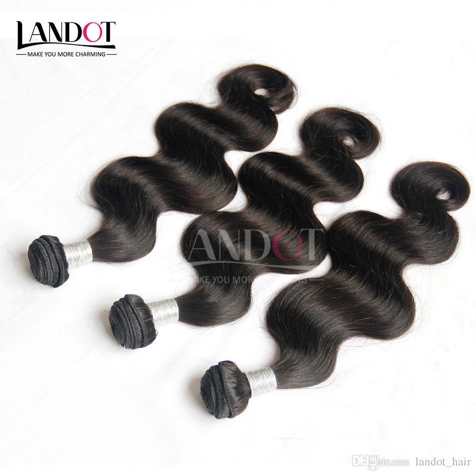 9A grado Sin procesar Camboya Virgin Hair Body Wave 100% Human Hair Weave Bundles 8
