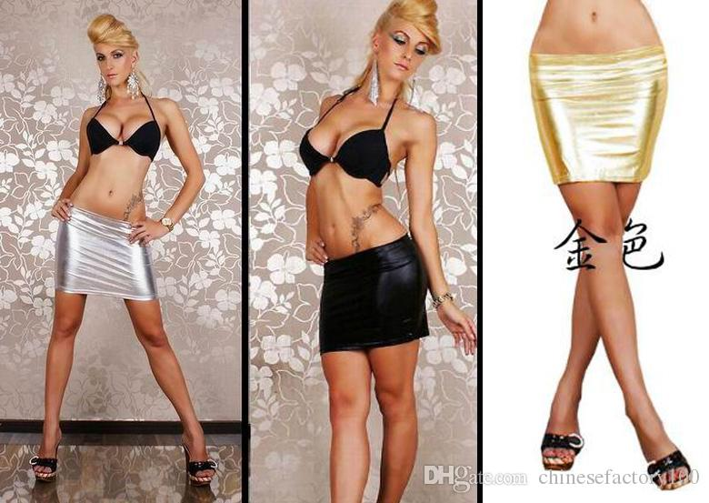 Sexy White Mini Skirt 75