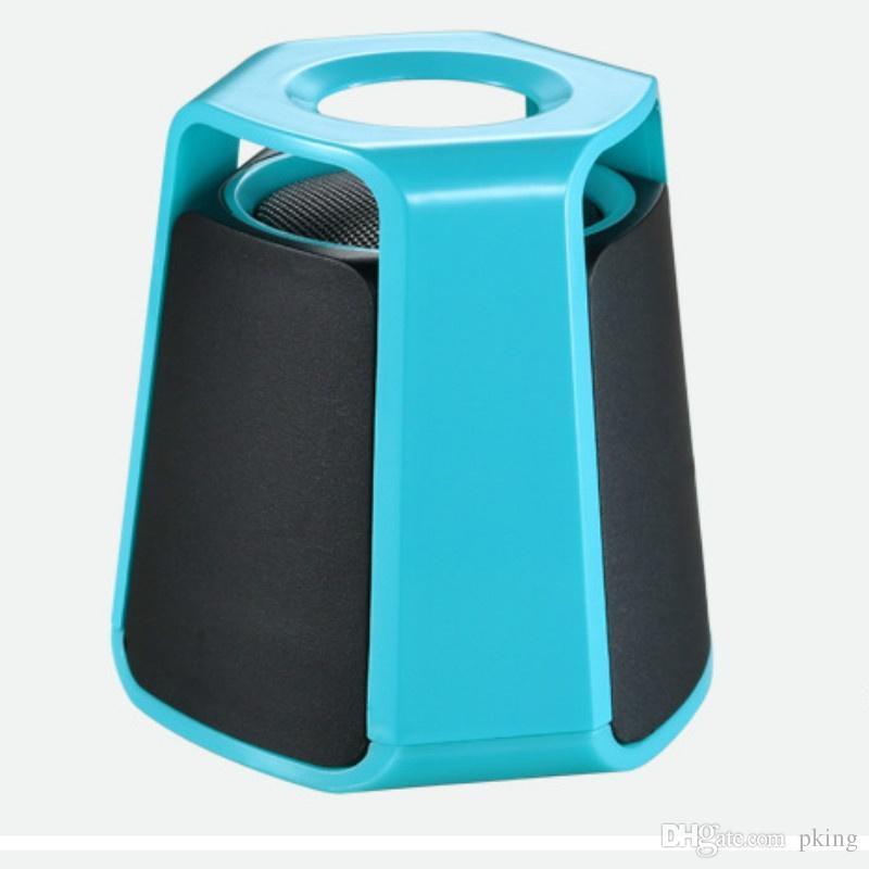 Fashion Mini Bluetooth Speaker Streamlined HIFI Stereo Sound Hi-Fi Speaker Car Portable Subwoofer Small Wireless Speaker Gift